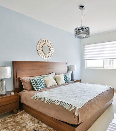 Foto de recámara principal de casa en venta en Cumbres modelo Ibiza VI en Montenova Residencial.