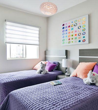 Foto de recámara secundaria de casa en venta en Cumbres modelo Ibiza VI en Montenova Residencial.